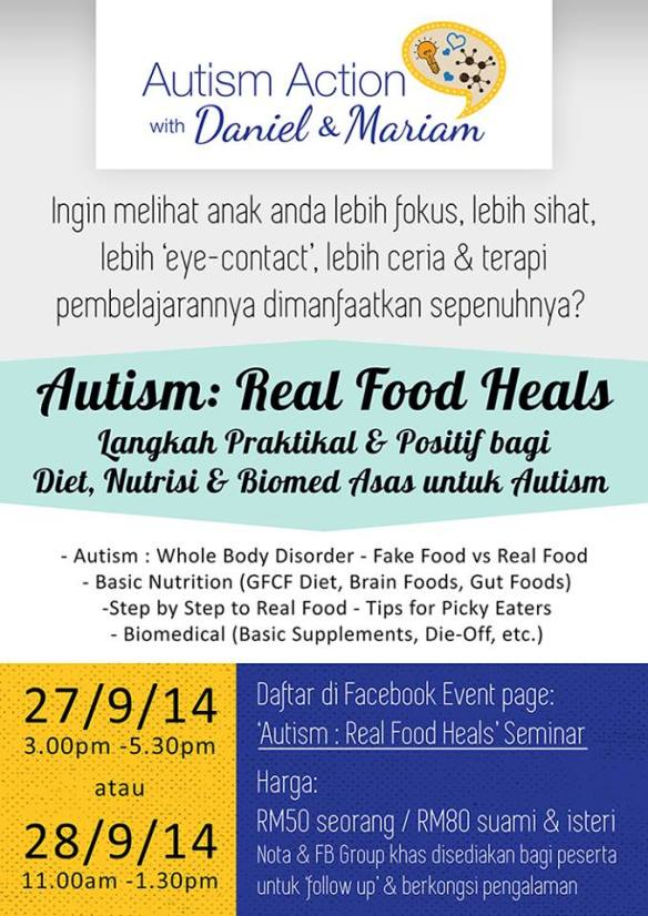 Real Food Heals talk