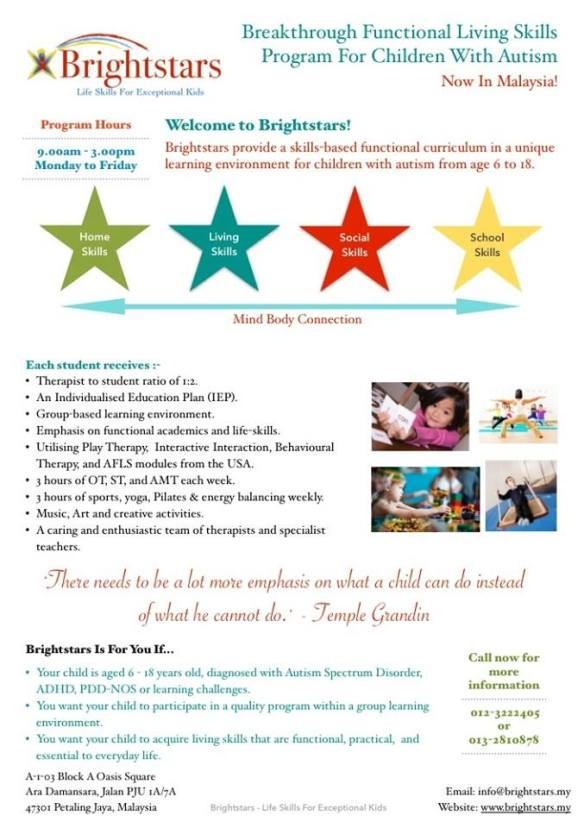 Brightstars flyer